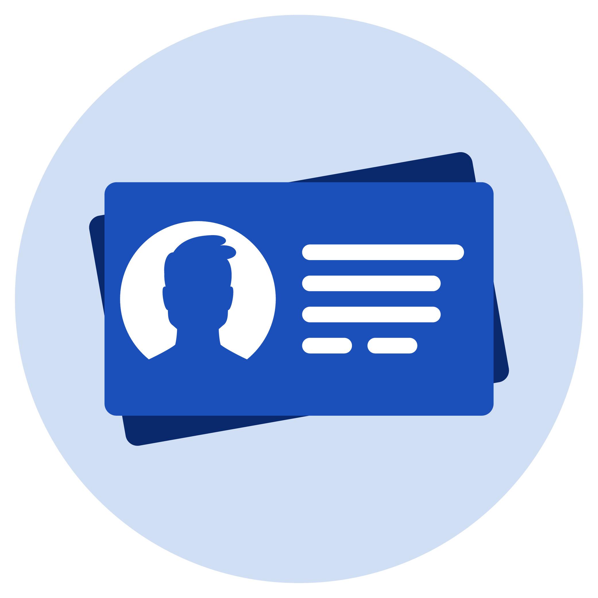 An ID card