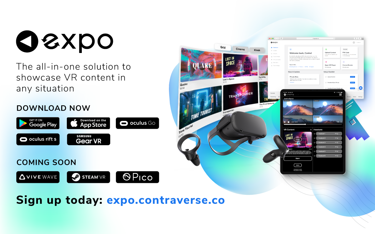 Say Hello to Expo — the Easiest Way to Showcase VR Content
