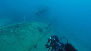 Wreck diving in Gran Canaria