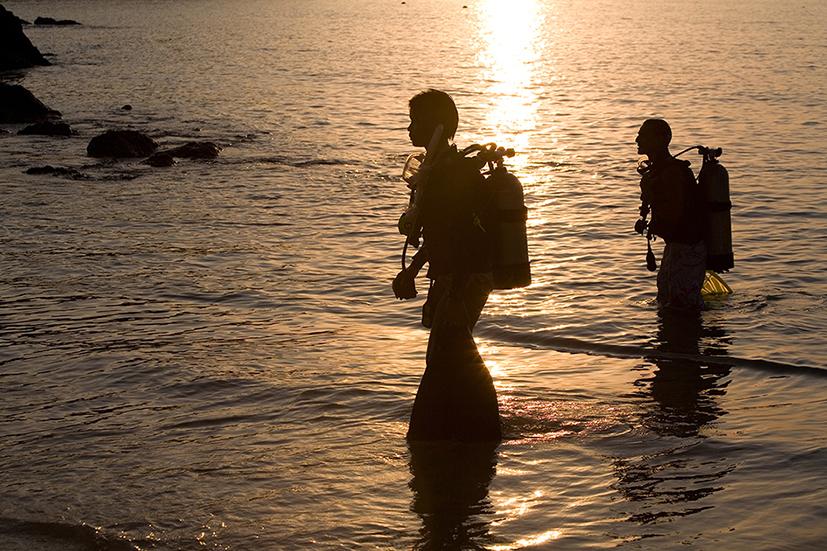 Our best shore diving spots