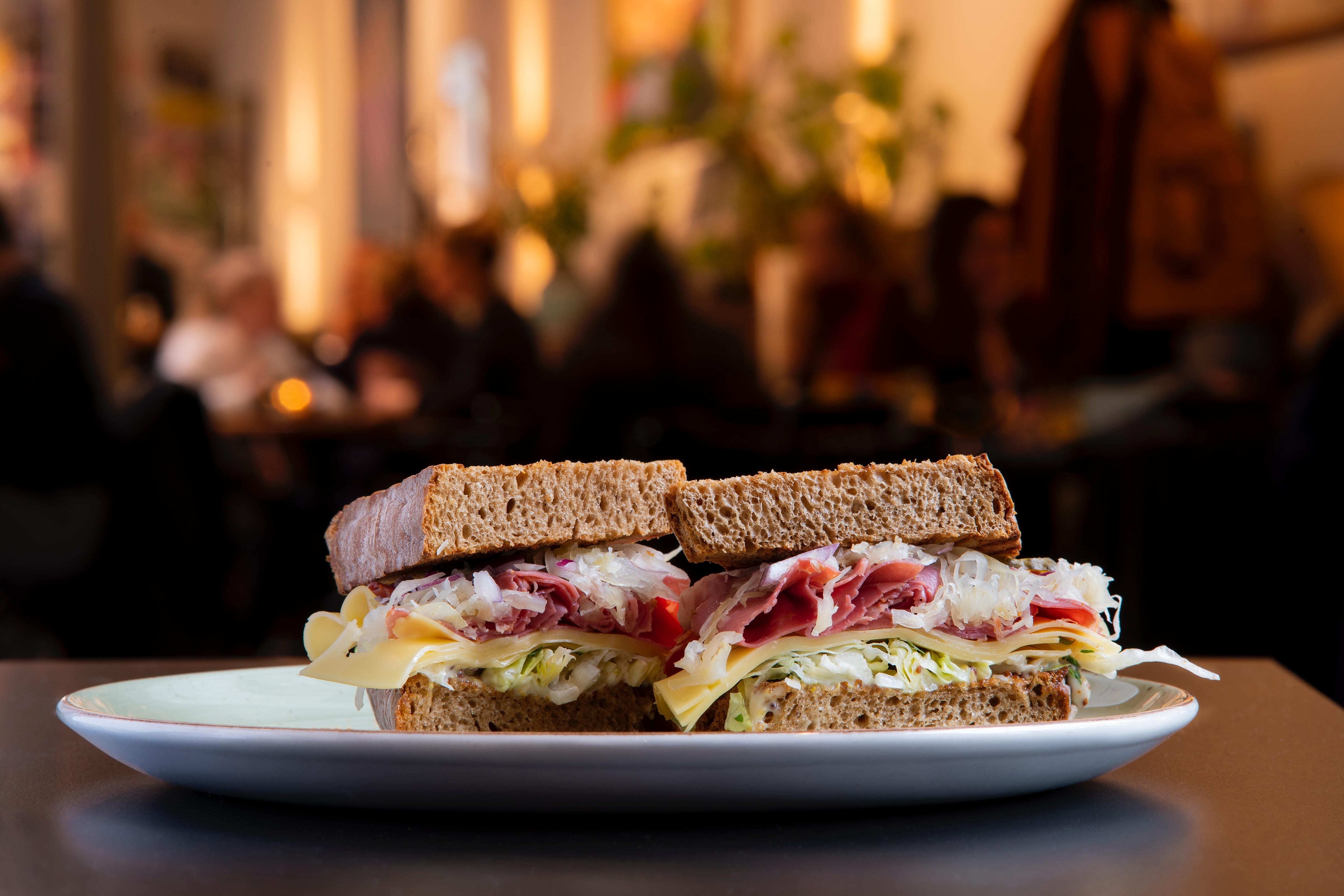 Mill St Reuben Sandwich