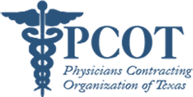 Physicians Contracting Organization of Texas (PCOT) Logo