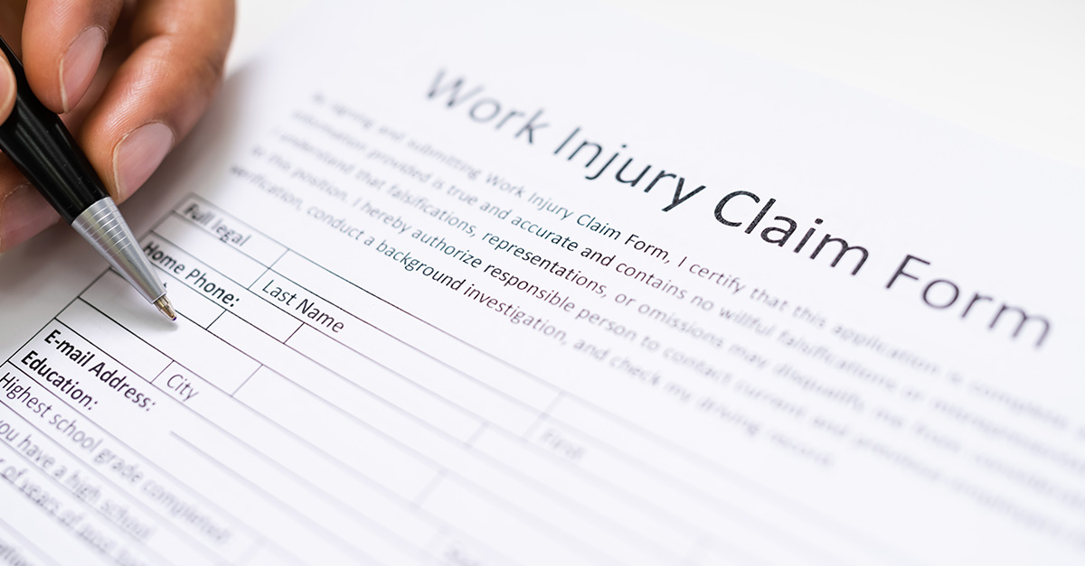 Workers compensation and addiction