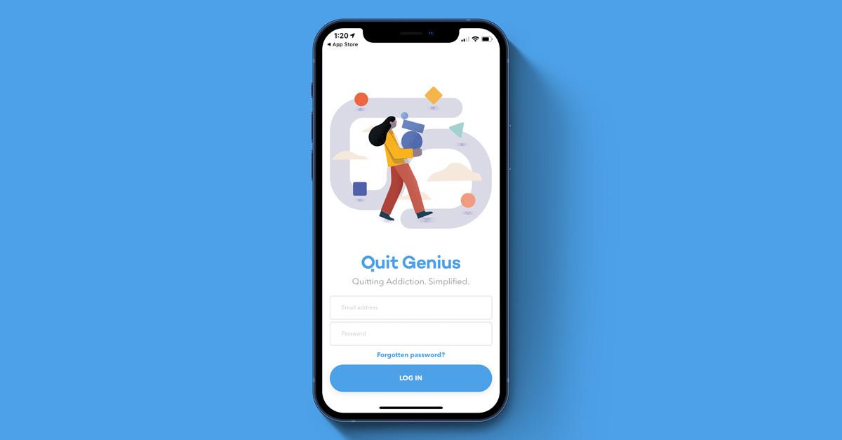 Quit Genius app