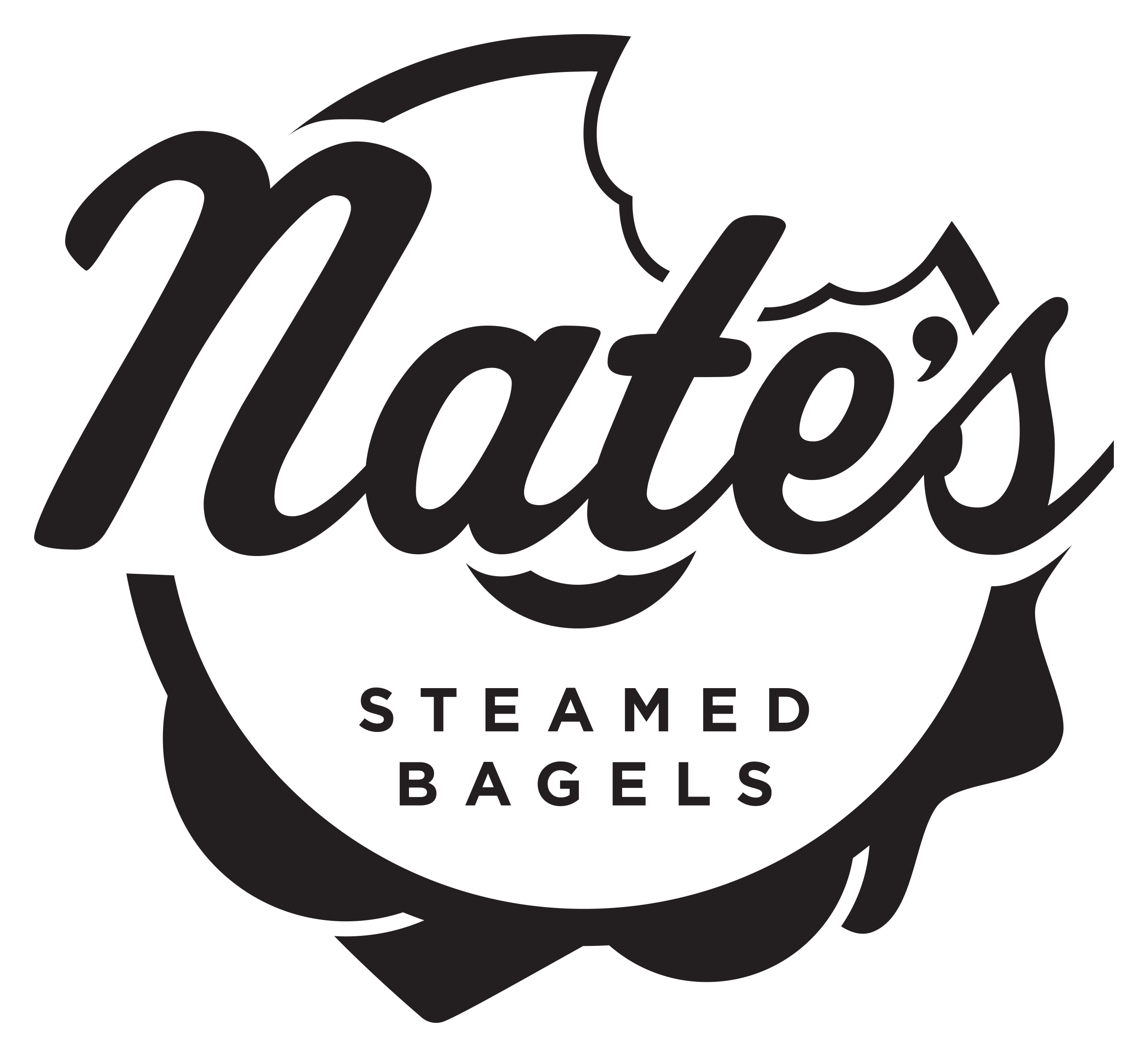 Nate's Steamed Bagels Logo