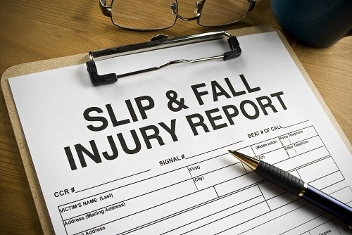 Little Rock slip and fall claim