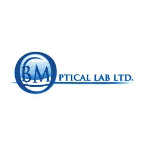 BM Optical Lab Logo