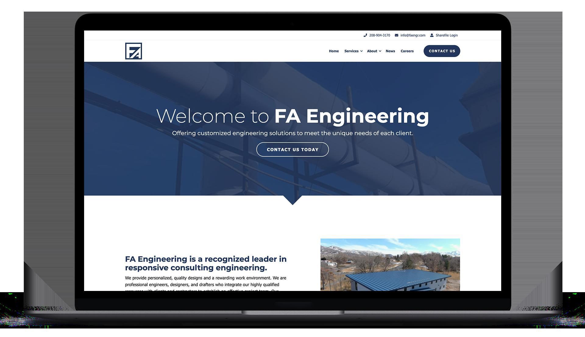 FA Engineering Website