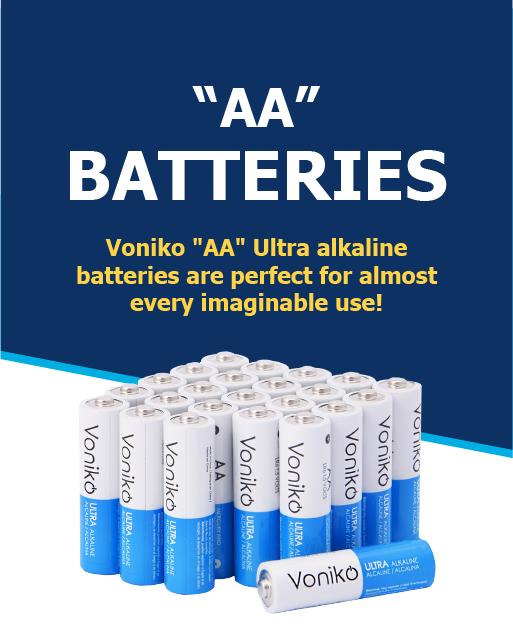 AA Ultra alkaline batteries
