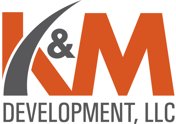 K&M Development logo