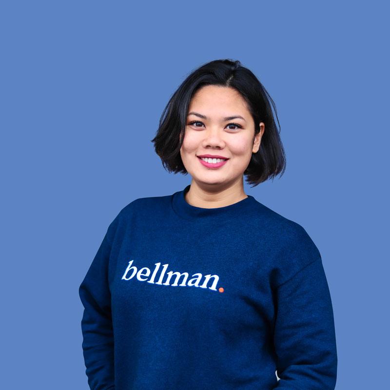 Portrait de Sarah, Comptable copro chez Bellman