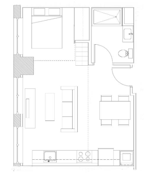 Studio Loft – Unit C2