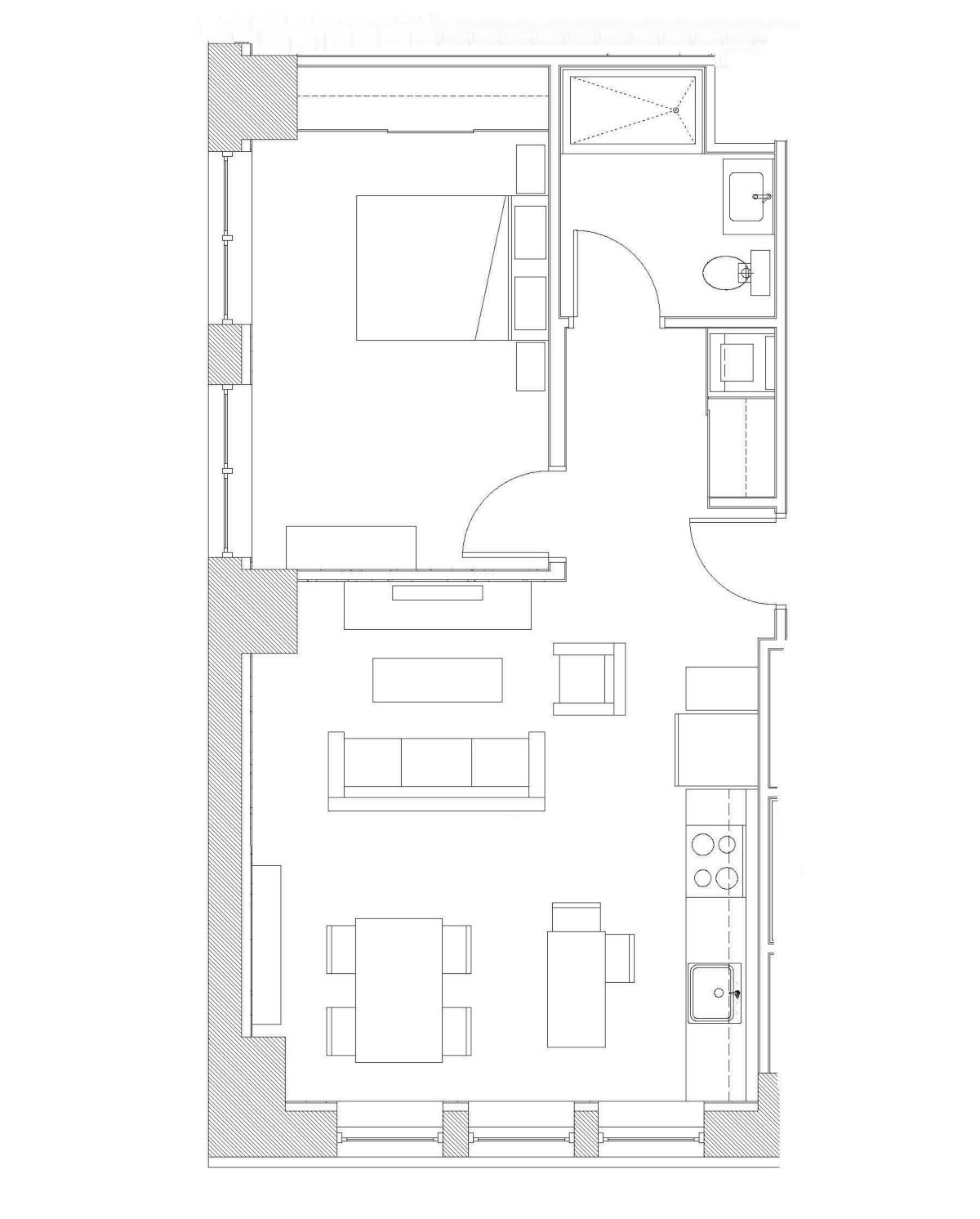 One Bedroom – Unit B2