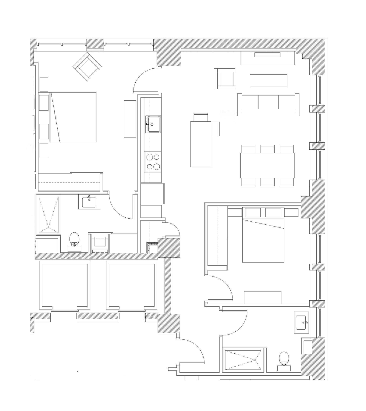 Two Bedroom – Unit A2