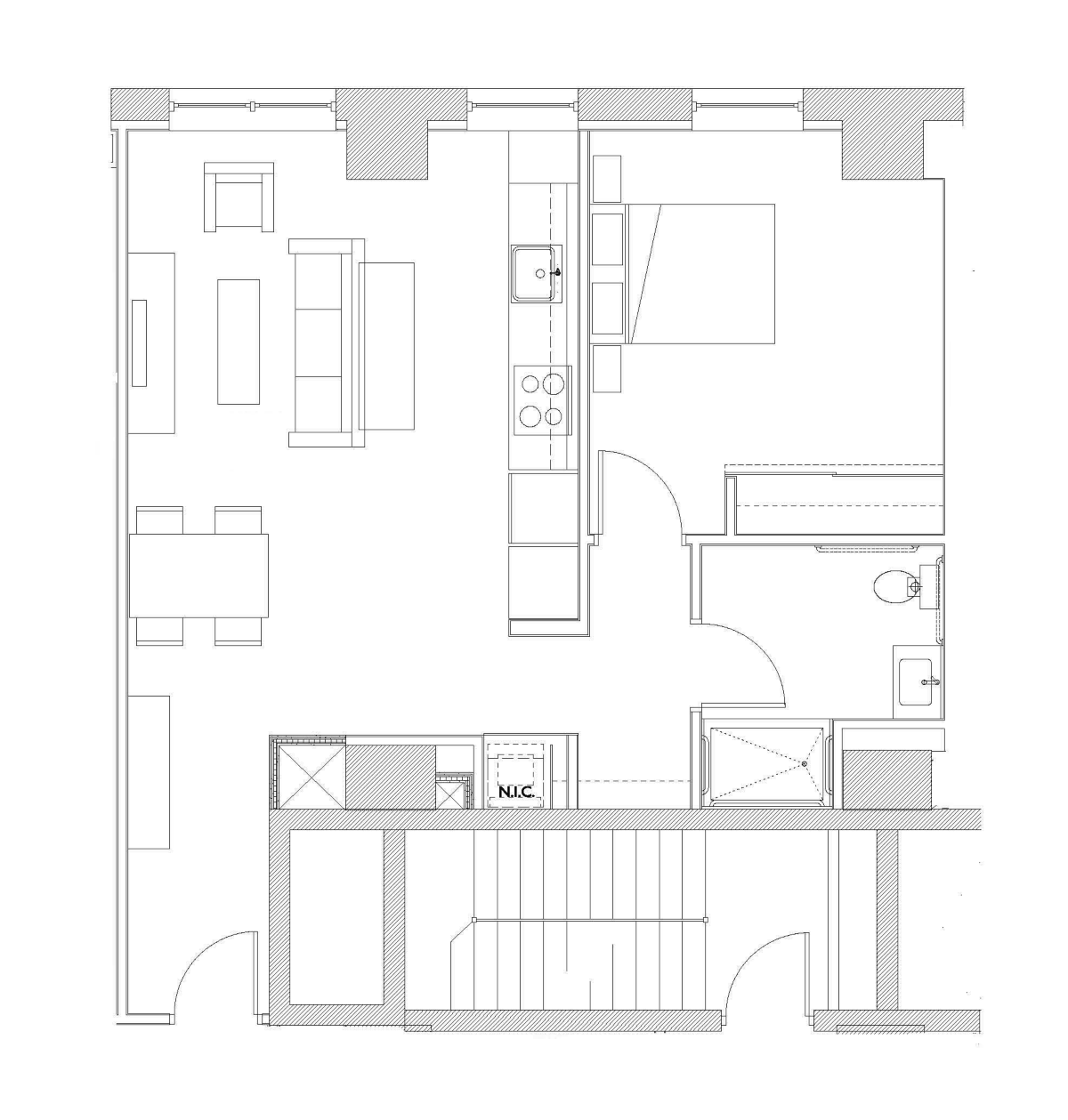 One Bedroom – Unit G