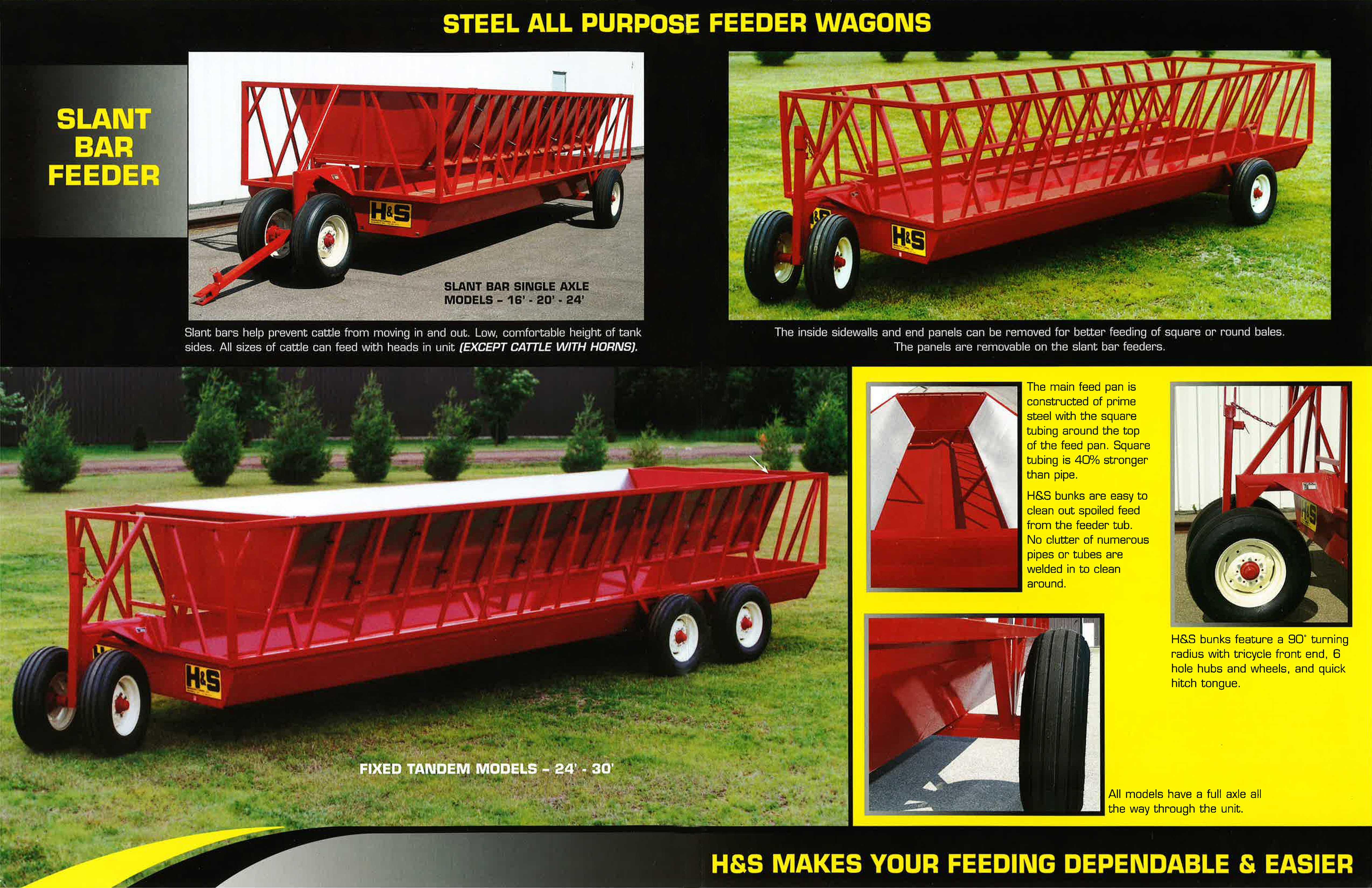 H&S Feeder Wagon