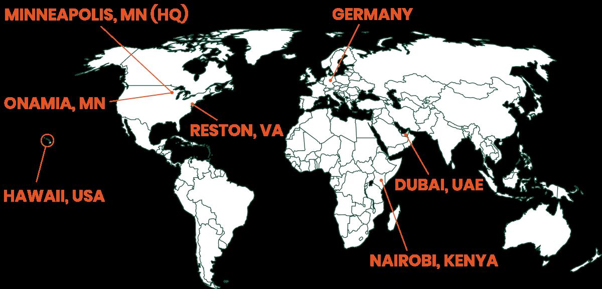 Makwa Global Locations