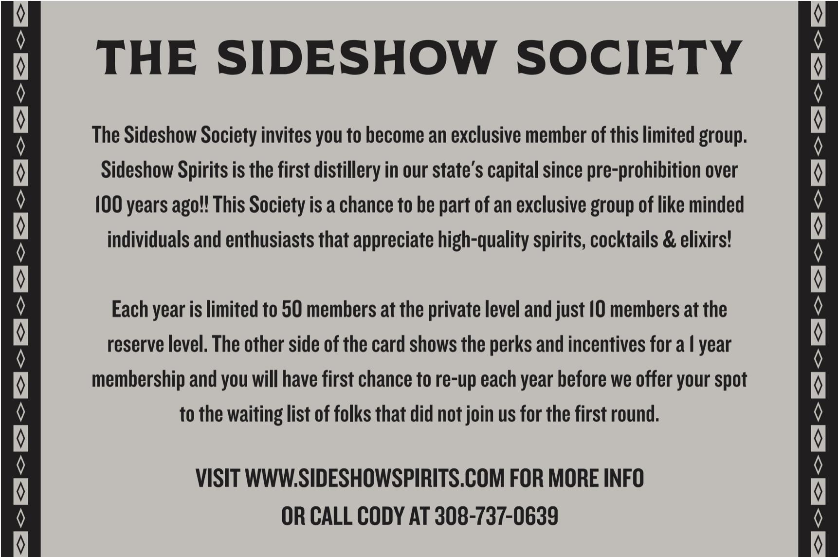 Sideshow Society