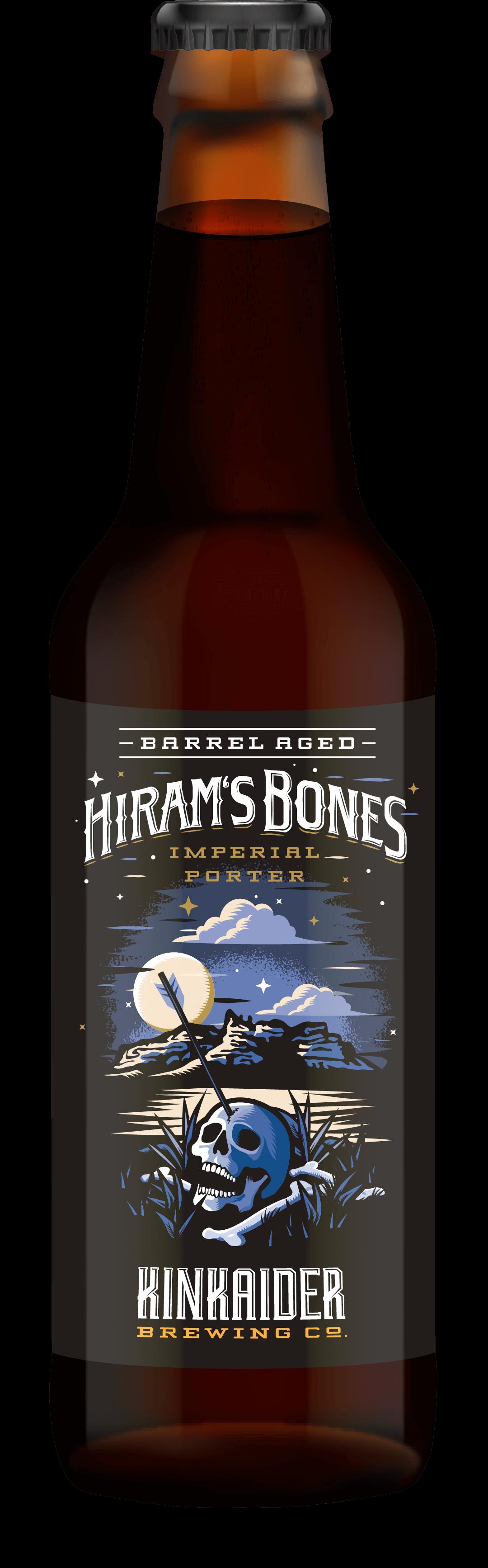 Barrel Aged Hiram Bones Pack