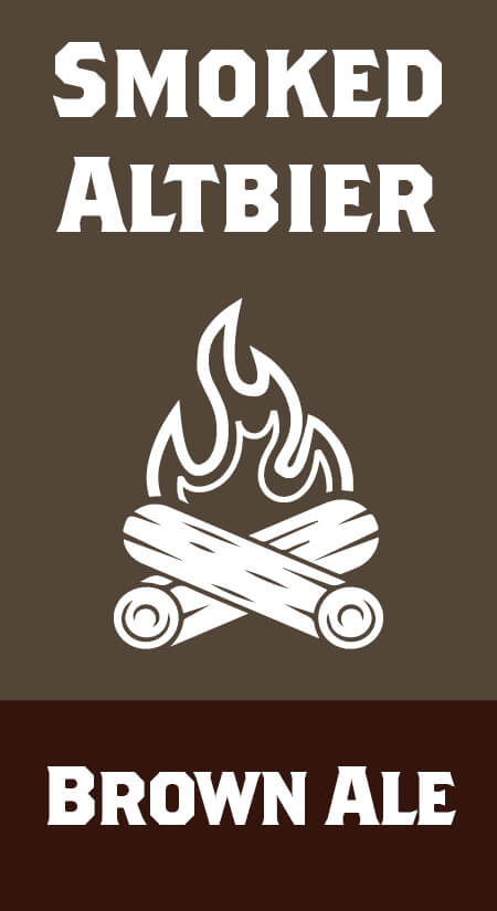Smoked Altbier Brown Ale