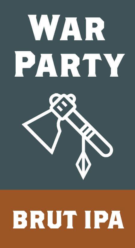 War Party Brut IPA
