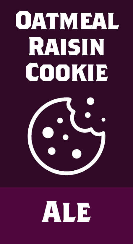 Oatmeal Raisin Cookie Amber Ale