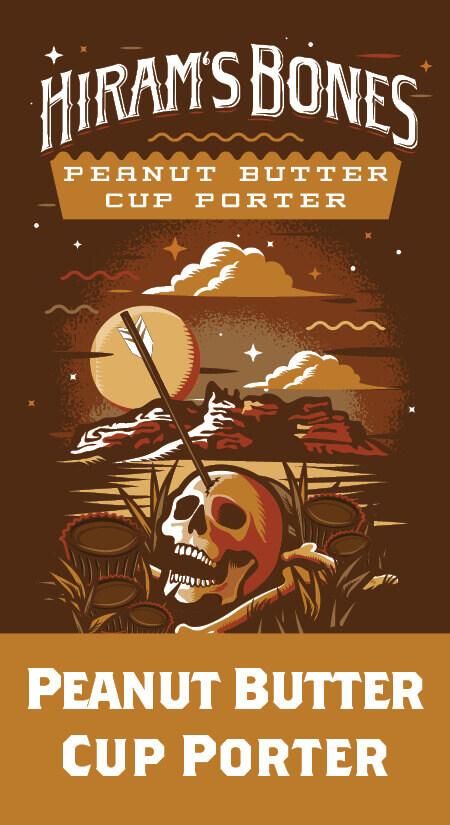 Hiram's Bones Peanutbutter Cup Porter