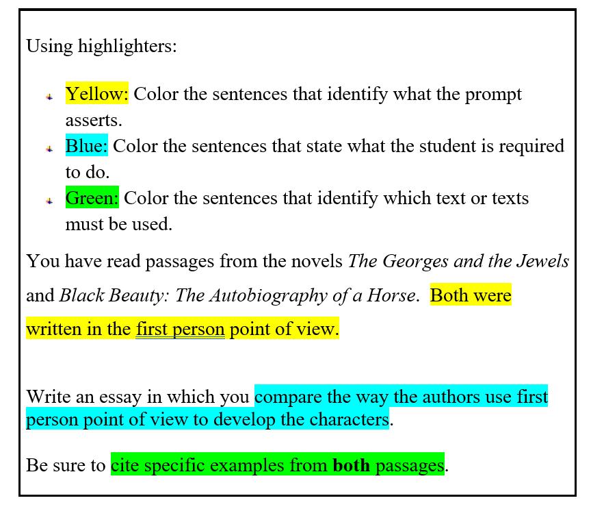 using highlighter