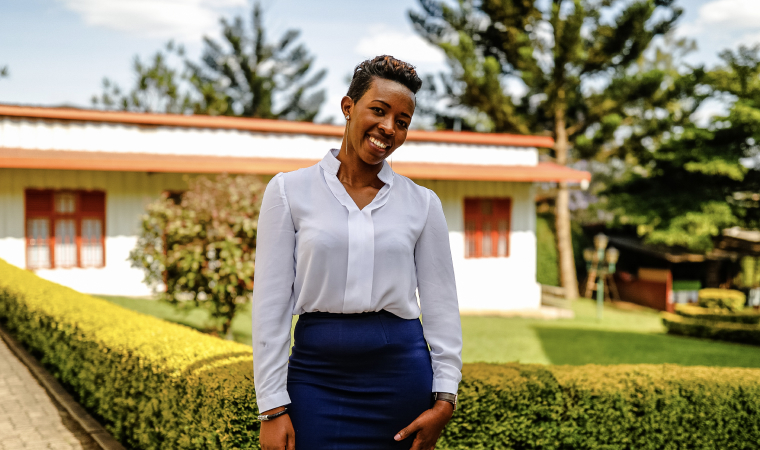 Portrait of Wibabara Angeline Kountable SME partner and managing director of ATIC