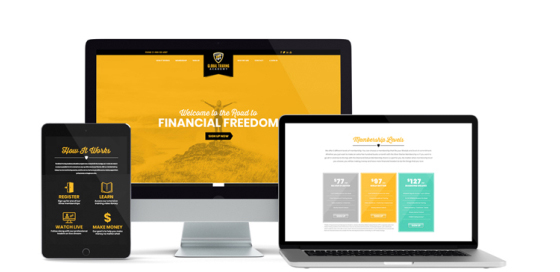 Global Trading Academy Website