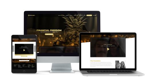 Gym Launch Website