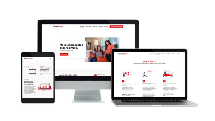 MyOrderWrite Website