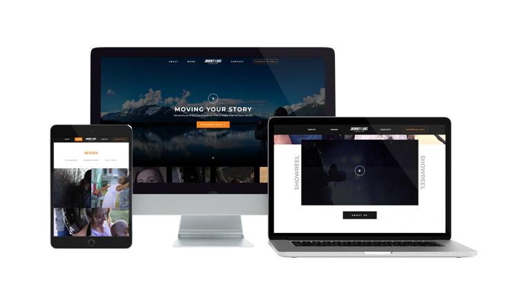 Journey Light Creative Website