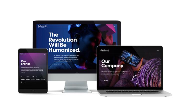Digital Trends Media Group Website