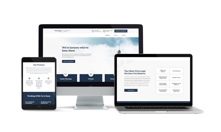 Wayfinder Law Website