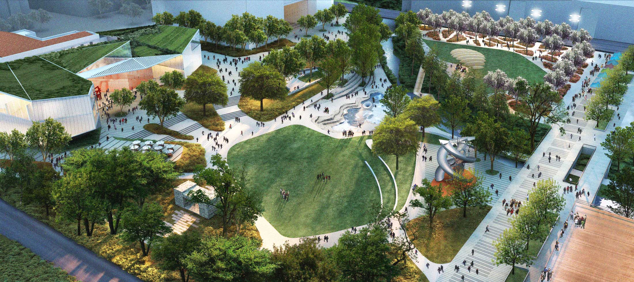 Waller Creek Rendering
