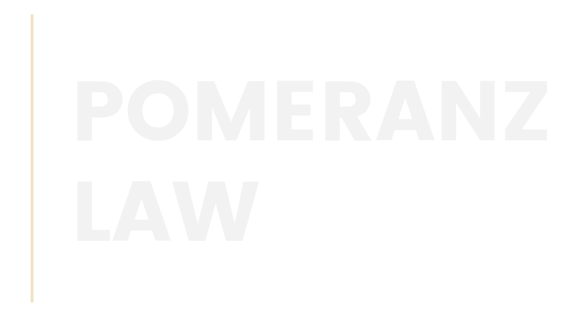 Pomeranz Law Logo