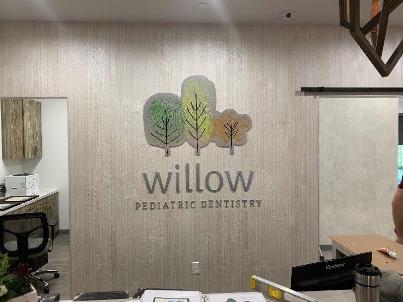 wpd logo in office