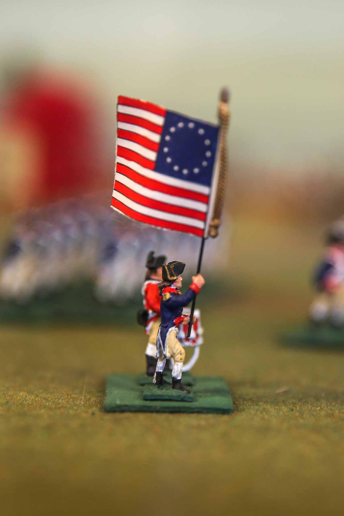 Revolutionary War Display