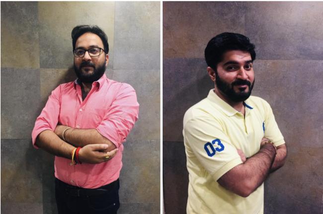 (共同創業者の2名。右:Madhur Mohan Malik 氏、左:Rahul Trivedi 氏)