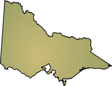 Victoria state map