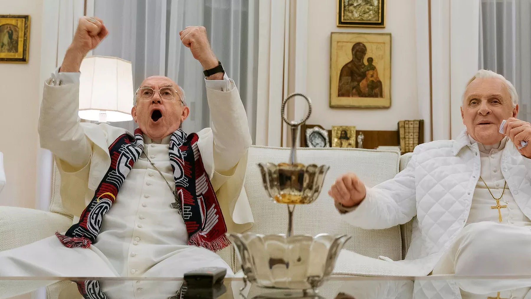 The Two Popes Movie Review: Hidden Meanings