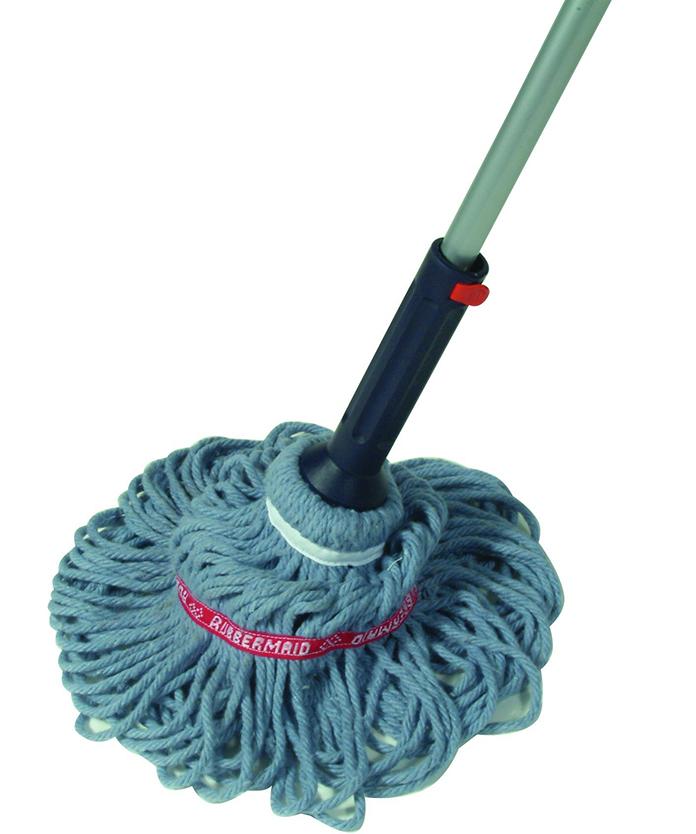 Self-wringing mops