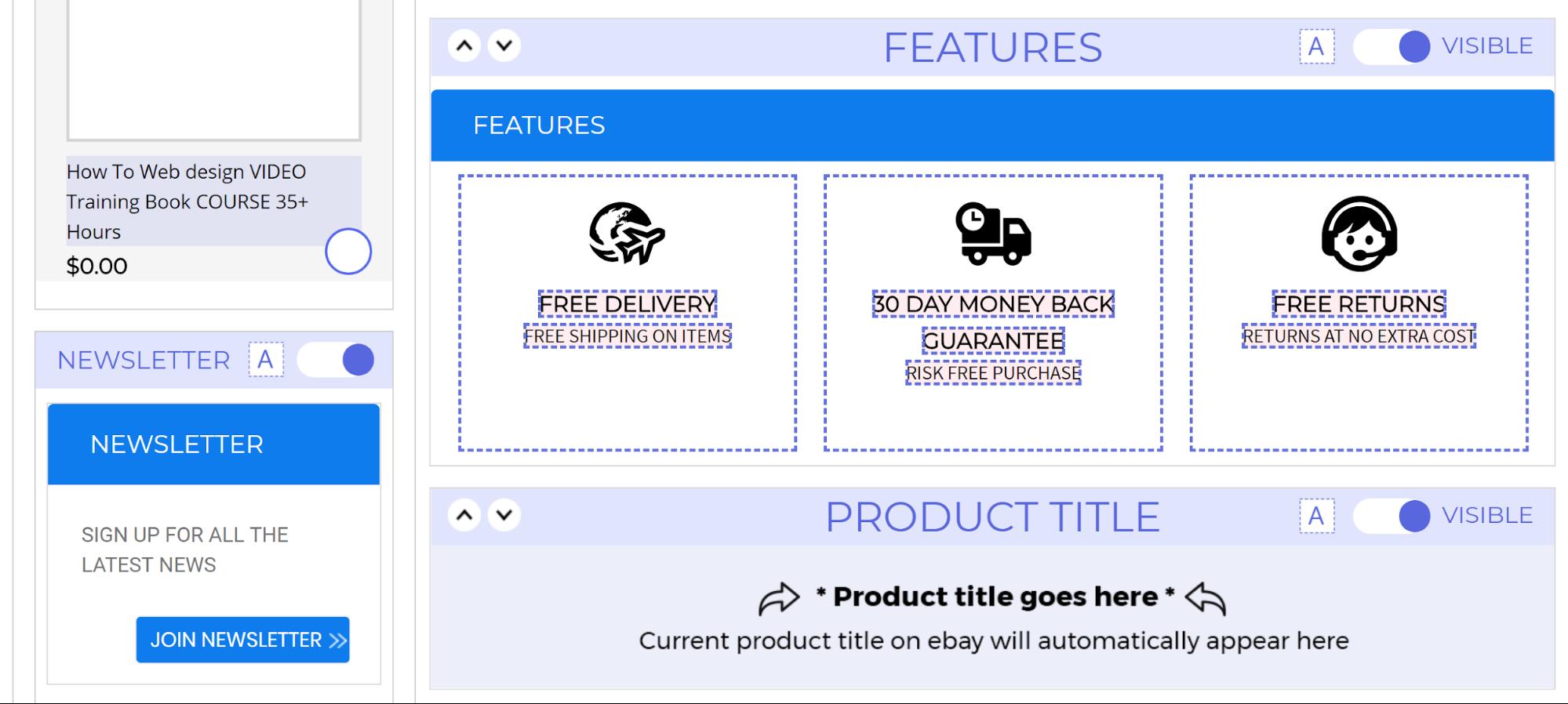 easy ebay seller disclaimer examples