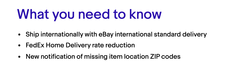 shipping updates 2020 ebay seller update