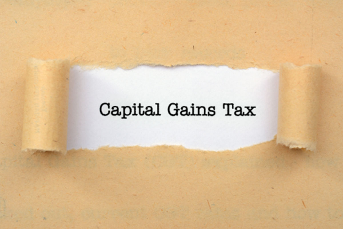 Capitol gains tax and business owners