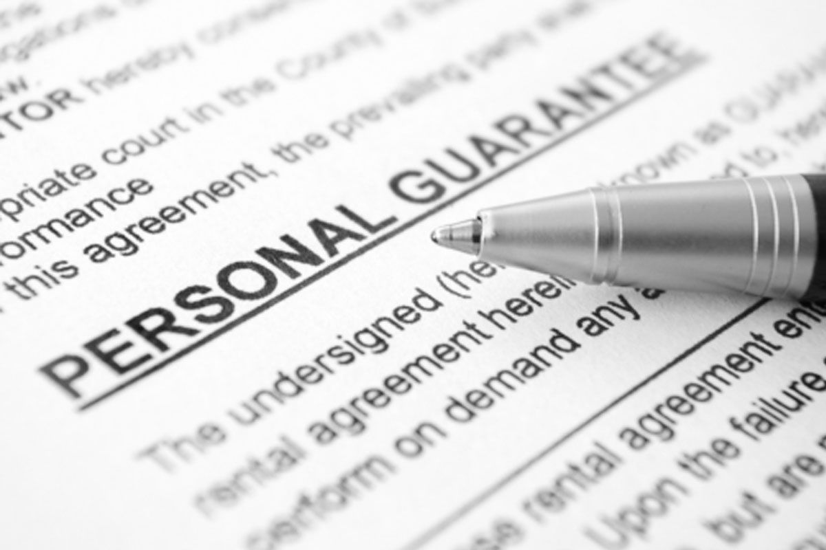 Business and Personal Guarantees