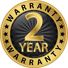 2 year warranty on solar parts an labor