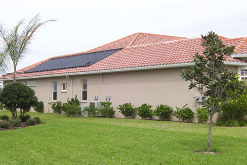 hudson pool solar heating project