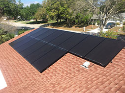 home solar electricity service